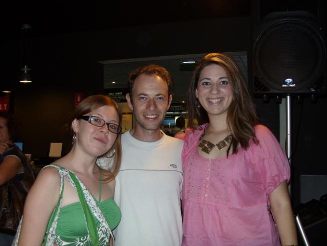 Priscila, Luiz e Carol