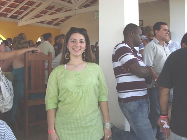 Durante a festa