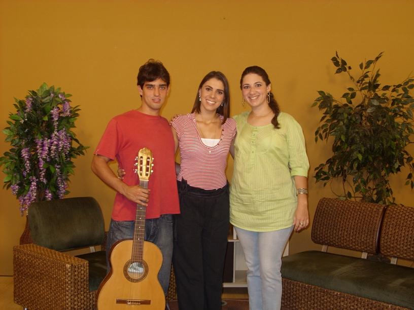 Ricardo, Carla e Carol