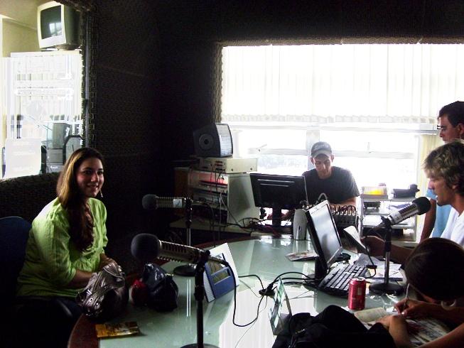 Estúdios da Rádio Mais