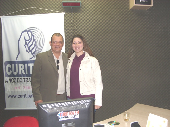 Alexandre Domingues e Carol Chelly