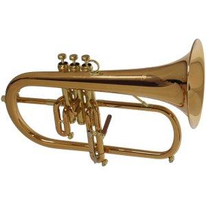 CarolBrass CFL-9990-RSS Flugel Horn