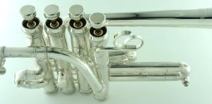 CarolBrass CPC-7775F-YLS-Bb/A Piccolo Trumpet