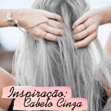 cabelo cinza granny hair