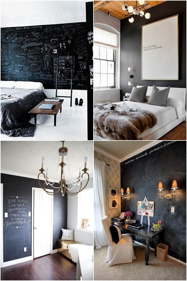 parede quadro negro decoracao