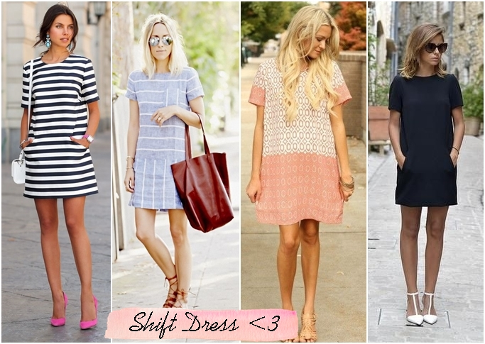 shift dress como usar