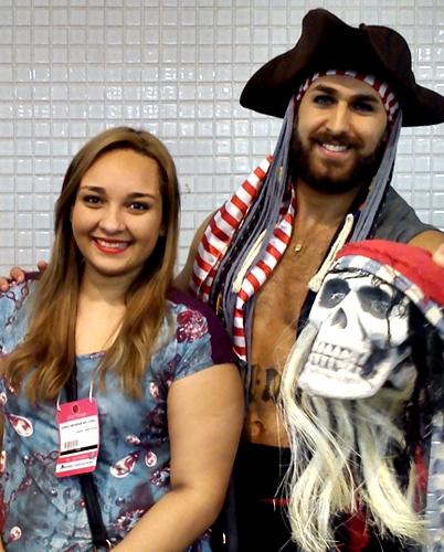 Eu e o Pirata da Dailus!!! :D