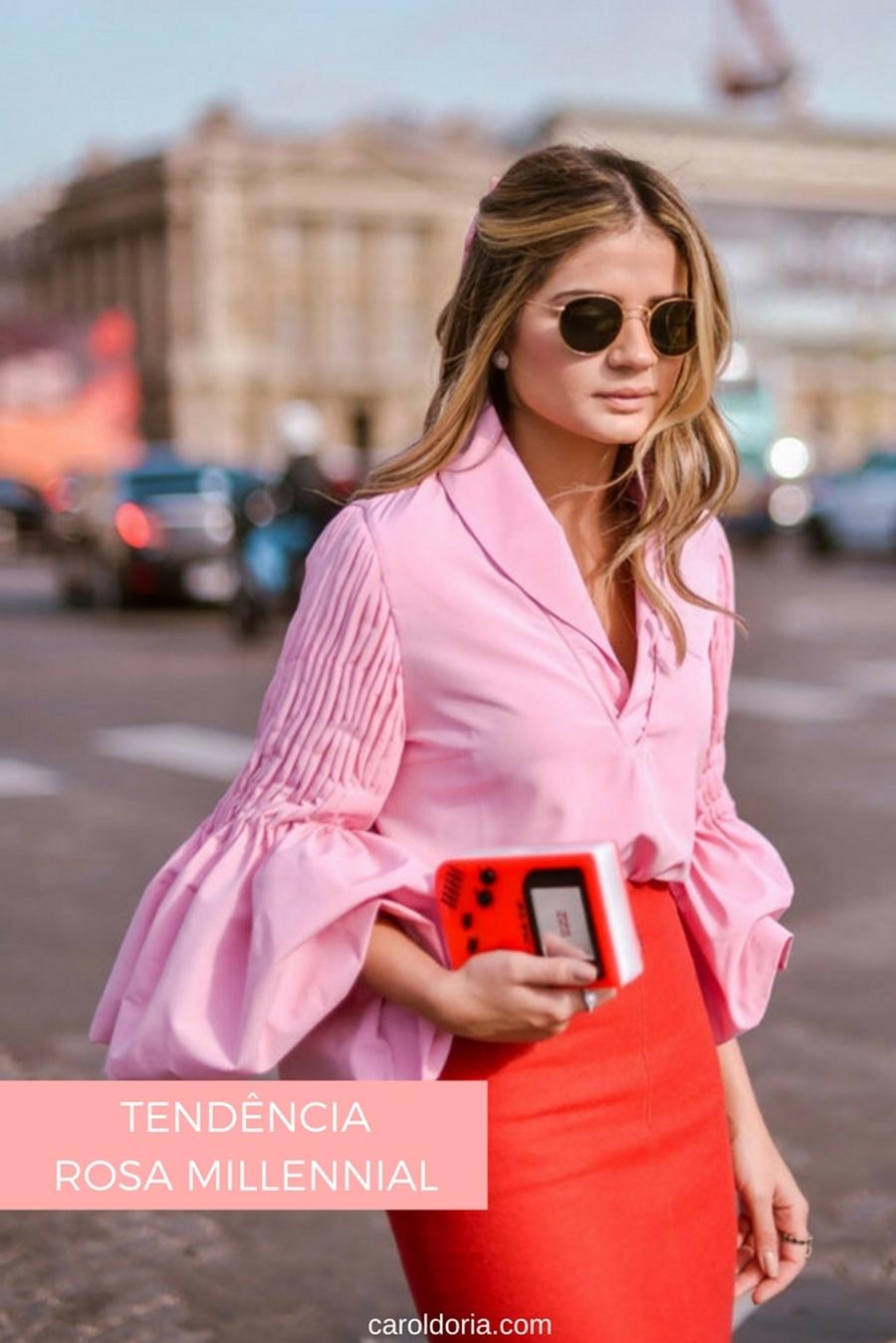 tendencia rosa millennial