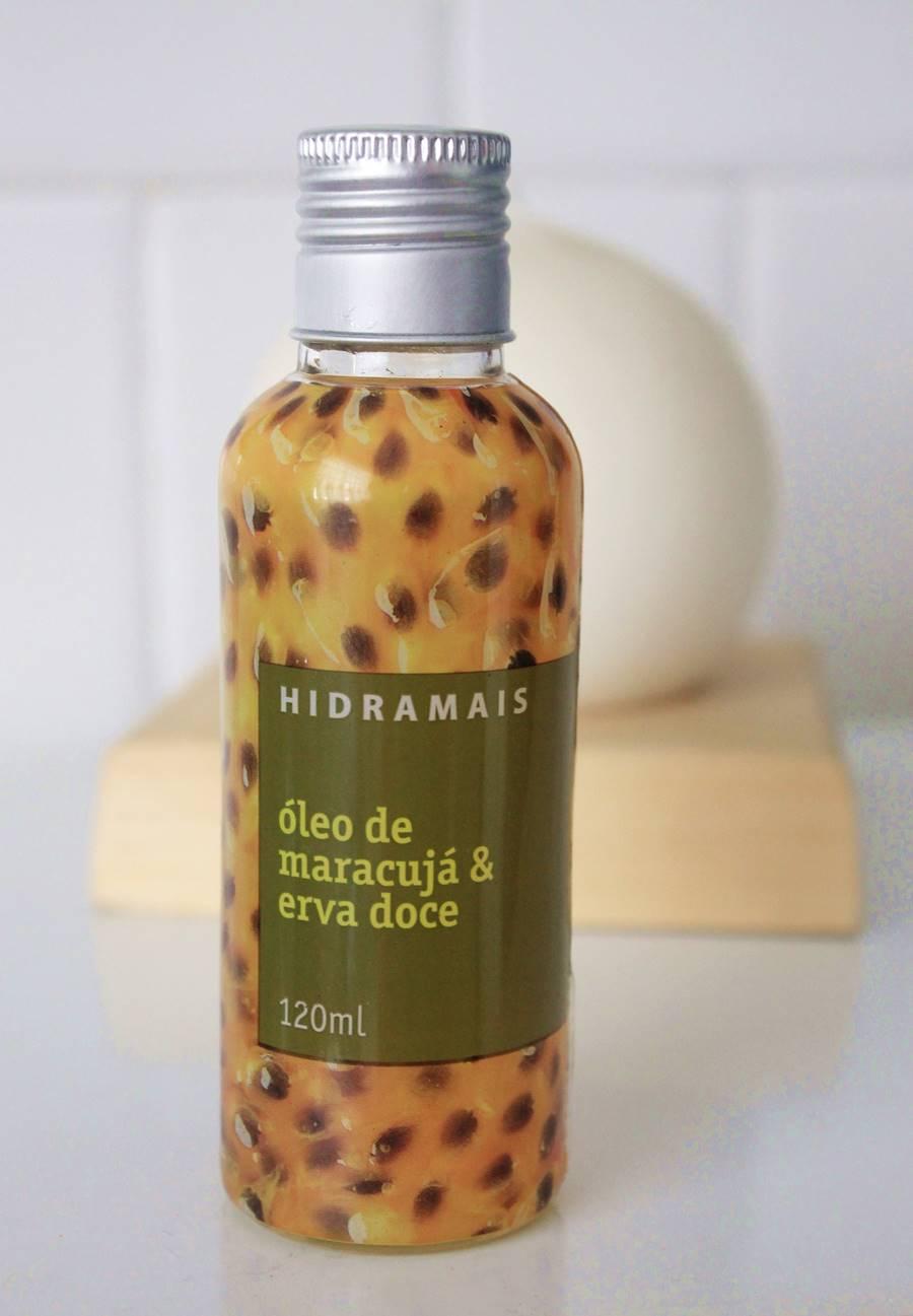 óleo maracujá erva doce hidramais