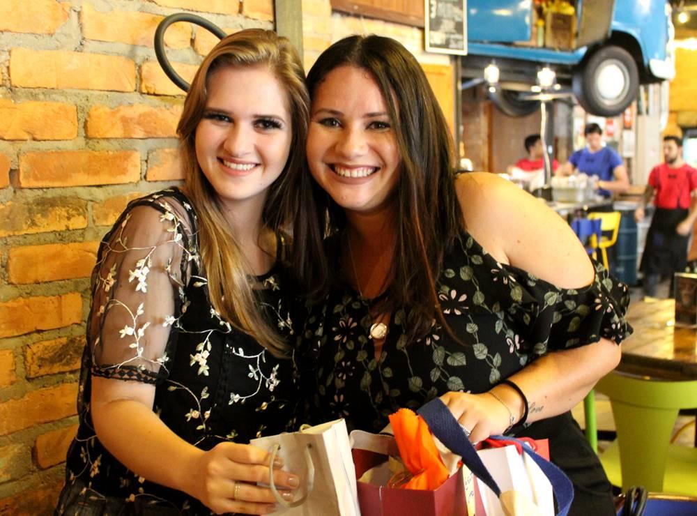 @_taamiferreira e @entrevitrines #BloggersSecret