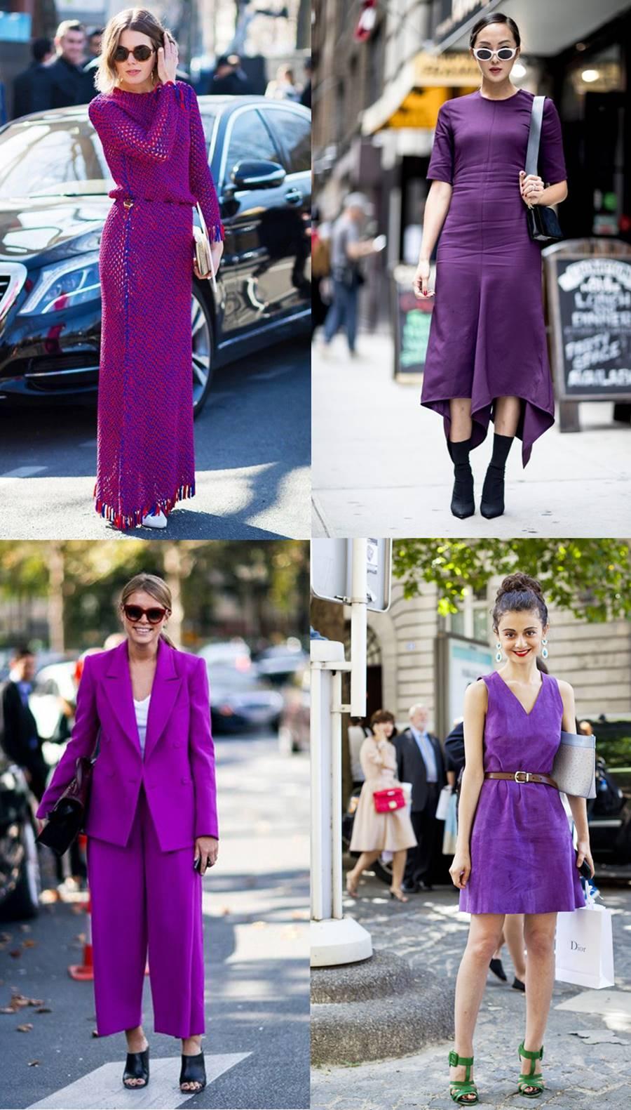 Como Usar: look todo ultra violet - Carol Doria
