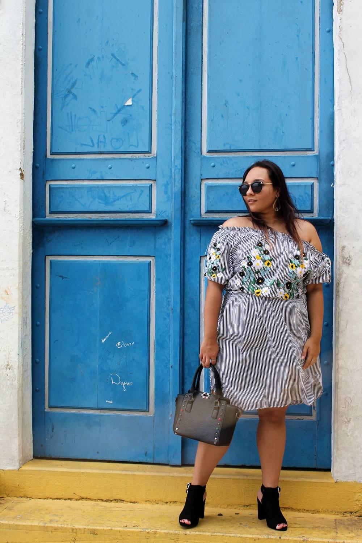 Look do dia: Vestido e Flores - Carol Doria