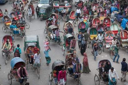 Mouchak Market Rickshaw