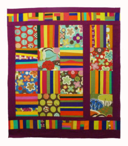 Baby quilt unquilted full 1