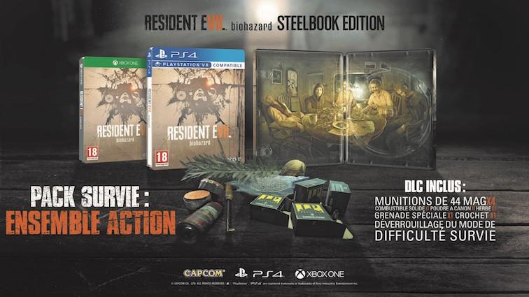 Resident Evil 7 : Découvrez l'édition Steelbook