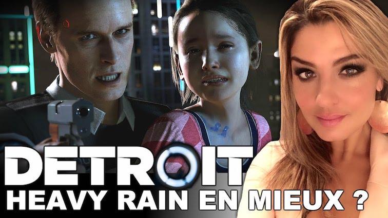 DETROIT : J'y ai joué sur PS4 PRO, mon avis !