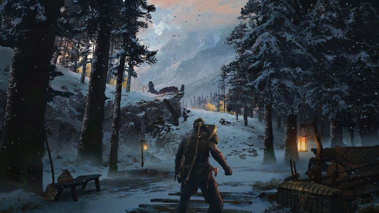 God of War se montre à travers de magnifiques concepts arts