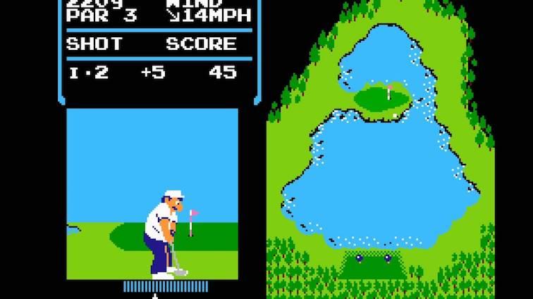 Le jeu Golf découvert dans la Switch est jouable et semble être  un hommage Satoru Iwata !