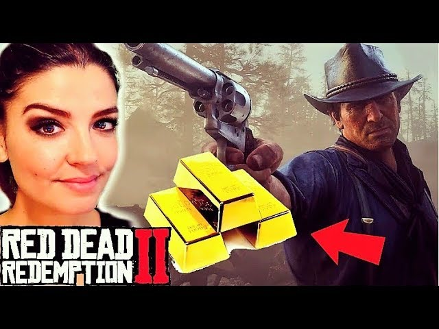 Secret Red Dead Redemption 2, lingots d'or et coffre caché