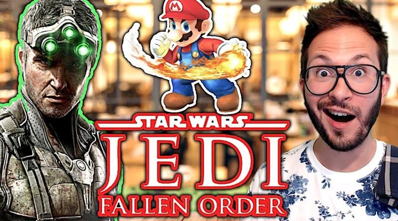 Le retour de Splinter Cell, Star Wars Jedi Fallen Order approche, un créateur de niveau Smash Bros