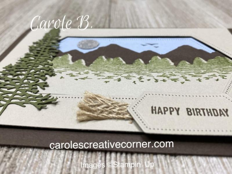 stampinup mountainair stamping cardmaking handmadecards rubberstamps