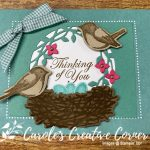 Birds and Branches Thinking of You Card