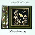 Dragonfly Garden Book Binding Fun Fold
