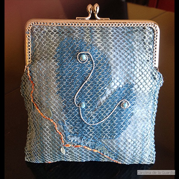 Torchon lace bag