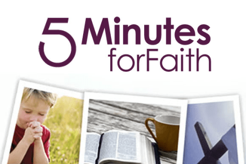 5 Minutes for Faith - Contributor