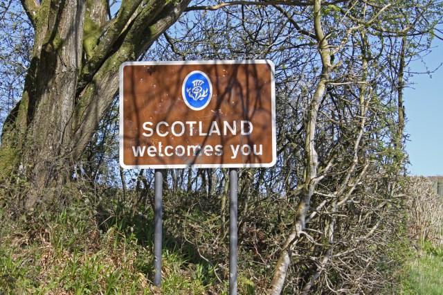 Welcome to Scotland B6318