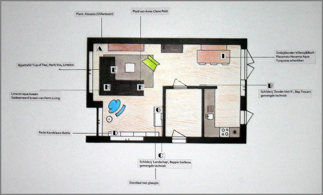 Caroliens Interieurstyling Inrichting moderne woonkamer