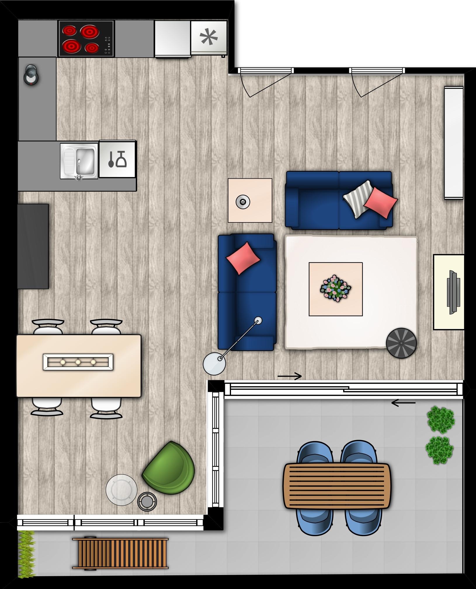 Caroliens Interieurstyling Nieuwbouw appartement