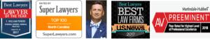 Bill Powers Charlotte Criminal Defense Lawyer - Awards & Certifications
