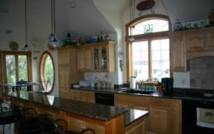 Custom interior and design kitchen