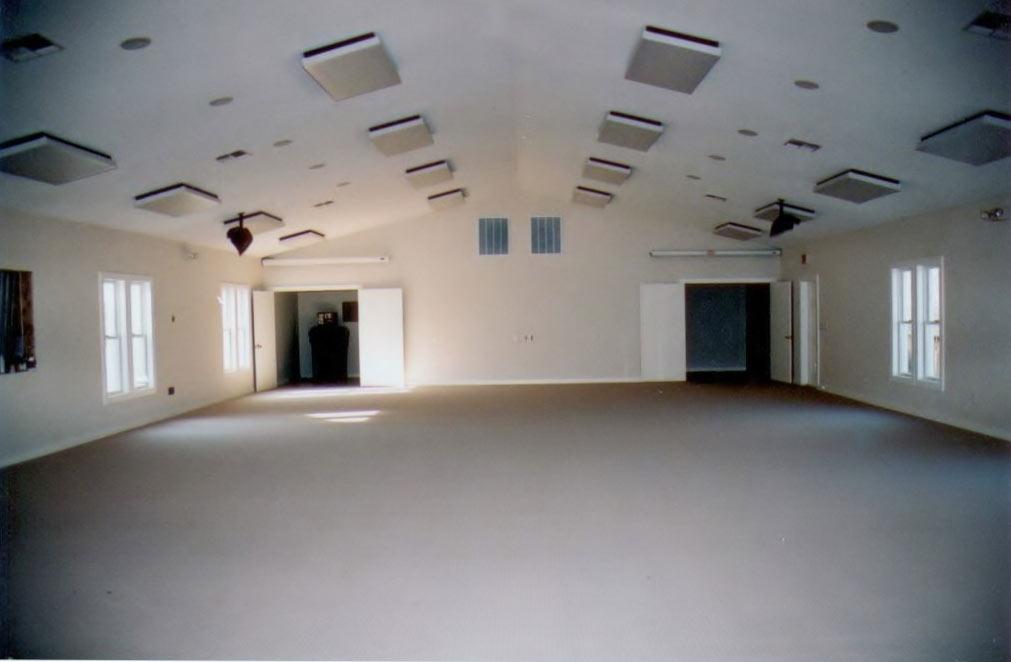 Duck United Methodist Church fellowhip hall construction