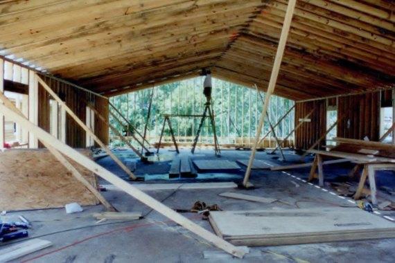 Duck United Methodist Church building construction
