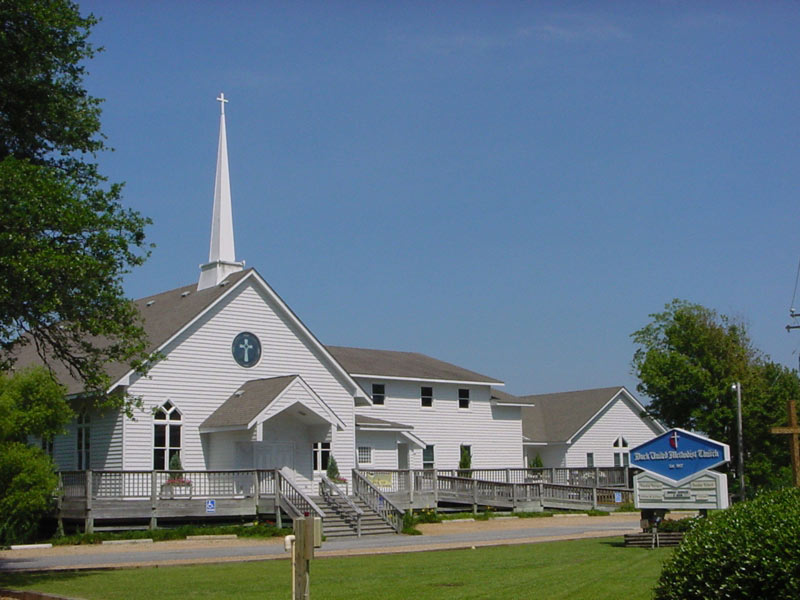 Duck United Methodist Church built by Carolina Beach Builders