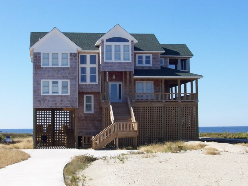 Salvo NC oceanfront vacation cottage, Wind over Waves