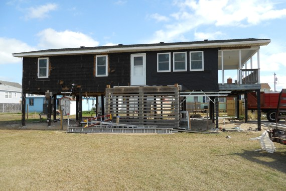 Before Renovation of Outer Banks Vacation Home