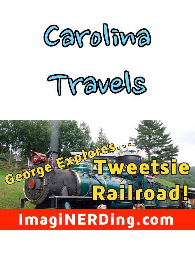 George Taylor Visits Tweetsie Railroad!
