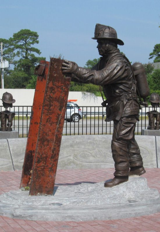 Wilmington Fallen Firefighter Memorial, Wilmington, NC