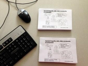 Material promocional de talleres