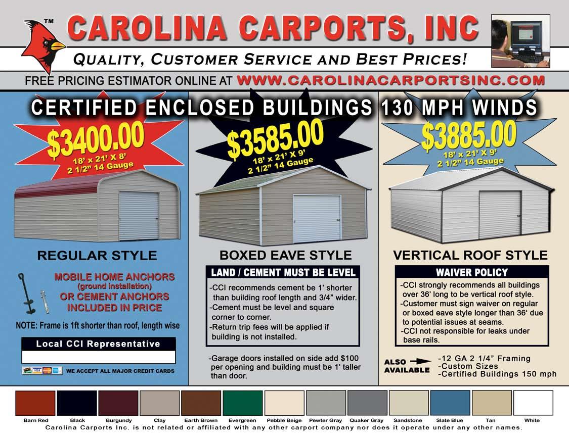 31 Lastest Carolina Carports Colors