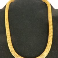"Sarah Cavender Necklace 16"" Mesh Chain"