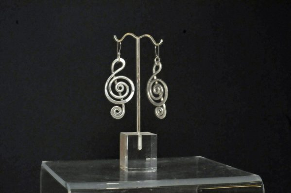 The Artist Jay Treble Clef Earring