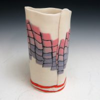 Chris Campbell Santa Fe Blanket Vase