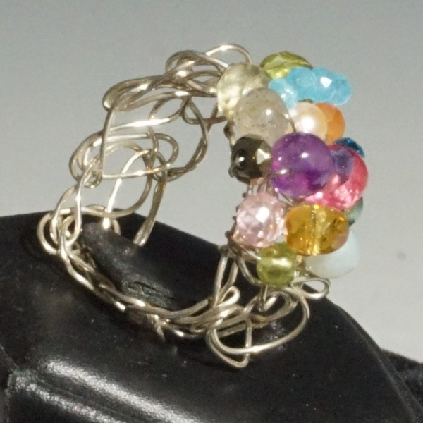 Adjust Size Woven Ring