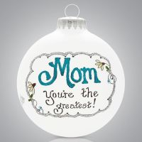 Heart Gifts Mom Ornament