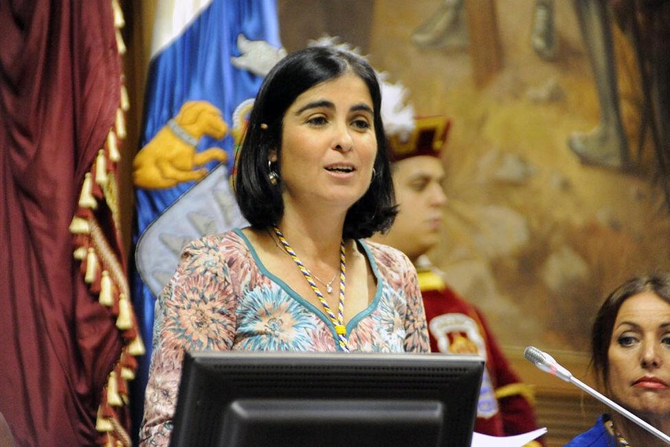 Carolina Darias en la apertura de la IX Legislatura