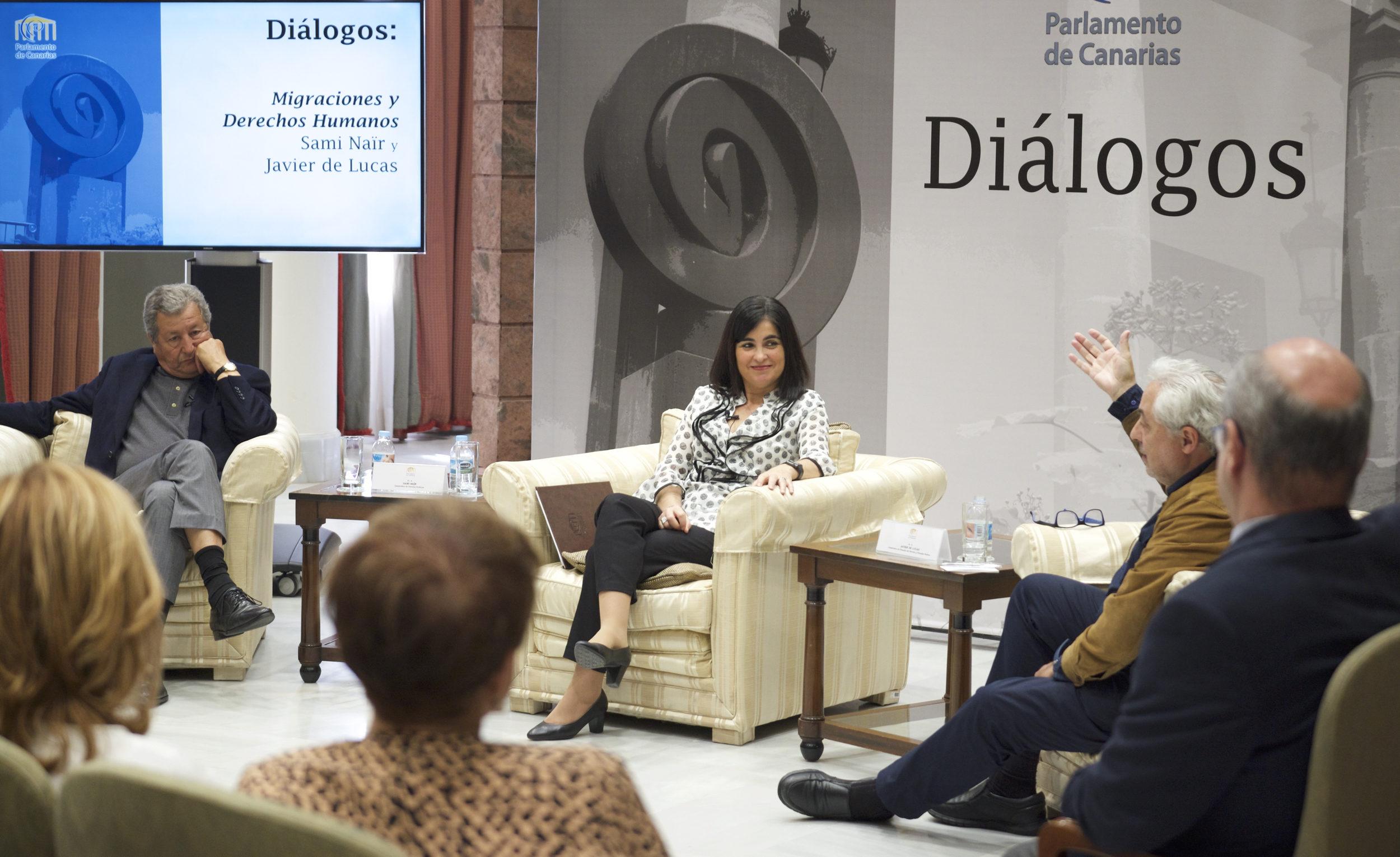 Jornada de Diálogos en el Parlamento de Canarias